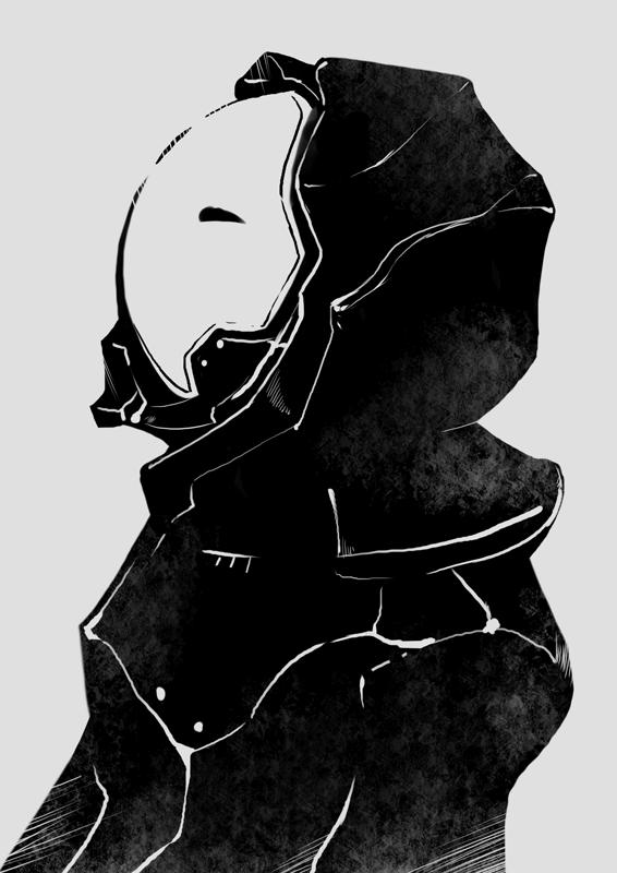 白黒的な絵 | Renkoma Lab