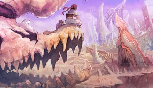 砂漠の海 制作過程
