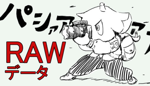 ここ一番の写真を撮る時には「RAWデータ」を利用しなきゃ損!って話